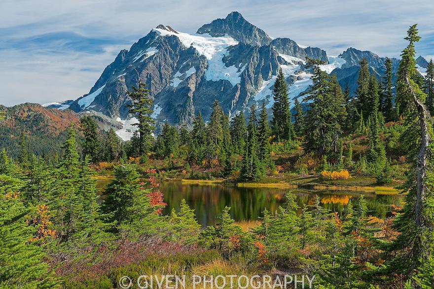 Mt. Shuksan in autumn, Washington