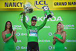 Peter Sagan (SVK) Bora-Hansgrohe retains the points Green Jersey at the end of Stage 4 of the 2019 Tour de France running 213.5km from Reims to Nancy, France. 9th July 2019.<br /> Picture: ASO/Pauline Ballet | Cyclefile<br /> All photos usage must carry mandatory copyright credit (© Cyclefile | ASO/Pauline Ballet)