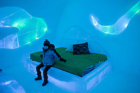 Ice Hotel near Quebec City, Canada