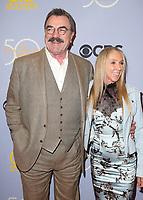 04 October 2017 - Los Angeles, California - Tom Selleck, Jillie Mack. CBS &quot;The Carol Burnett Show 50th Anniversary Special&quot;. <br /> CAP/ADM/FS<br /> &copy;FS/ADM/Capital Pictures