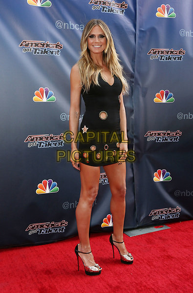 UNIVERSAL City, CA April 27- Heidi Klum, At &ldquo;America&rsquo;s Got Talent&rdquo; red carpet at The Universal Lot, California on April 27, 2017. <br /> CAP/MPI/FS<br /> &copy;FS/MPI/Capital Pictures