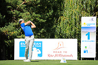 Liam Johnston (SCO) during the final round of the Kazakhstan Open presented by ERG played at Zhailjau Golf Resort, Almaty, Kazakhstan. 16/09/2018<br /> Picture: Golffile | Phil Inglis<br /> <br /> All photo usage must carry mandatory copyright credit (© Golffile | Phil Inglis)