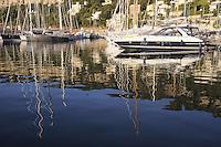- France, French Riviera, the tourist harbor of Villefranche sur Mer<br /> <br /> - Francia, Costa Azzurra, il porto turistico di Villefranche sur Mer