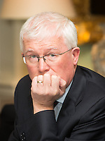 02/04/2015<br /> Prof paddy Broe Clinical Director &amp; Past President Royal College of Surgeons in Ireland  <br />  during the Pride of Ireland judging day in the Mansion House, Dublin.<br /> Photo:  Gareth Chaney Collins