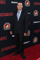 """HOLLYWOOD, LOS ANGELES, CA, USA - MARCH 20: Yancey Arias at the Los Angeles Premiere Of Pantelion Films And Participant Media's """"Cesar Chavez"""" held at TCL Chinese Theatre on March 20, 2014 in Hollywood, Los Angeles, California, United States. (Photo by David Acosta/Celebrity Monitor)"""