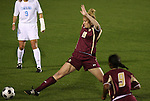 07 November 2008: Boston College's Mae Shamir. The University of North Carolina Tarheels defeated Boston College Eagles 2-0  at WakeMed Stadium at WakeMed Soccer Park in Cary, NC in a women's ACC tournament semifinal game.