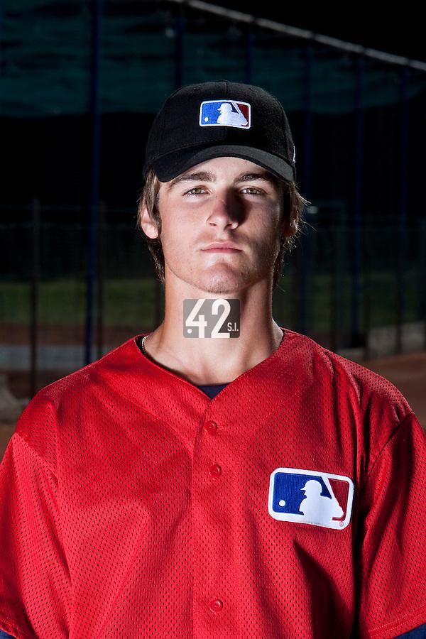 Baseball - MLB European Academy - Tirrenia (Italy) - 20/08/2009 - Simon Vicente (France)