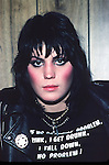 Joan Jett 1981<br />&copy; Chris Walter