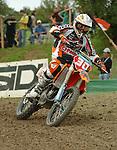 Motocross, MX2 WM 2004, Weltmeisterschaft, Grand Prix of Europe, Gaildorf (Germany) Ben Townley (NZL), KTM