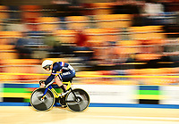 Picture by Alex Broadway/SWpix.com - 02/03/2018 - Cycling - 2018 UCI Track Cycling World Championships, Day 3 - Omnisport, Apeldoorn, Netherlands - Rayan Helal of France competes in the Men's Sprint Qualifying.