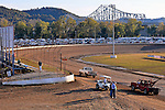 Oct 18, 2013; 5:23:24 PM; Portsmouth, OH ., USA; The 33rd Annual RED BUCK Dirt Track World Championship Presented by Borrowed Blue at Portsmouth Raceway Park, a $50,000-to-win event on the Lucas Oil Late Model Dirt Series.  Mandatory Credit: (thesportswire.net)