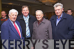 Teddy Healy, Ned O'Sullivan, Padraig O'Sullivan (Beaufort) and Rupert Costello (Beaufort) pictured at the Fianna Fail meeting at the Brandon Hotel on Friday.