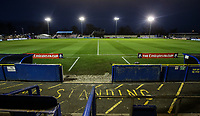 A general view of the Damson Park stadium<br /> <br /> Photographer Andrew Kearns/CameraSport<br /> <br /> The Emirates FA Cup Second Round - Solihull Moors v Blackpool - Friday 30th November 2018 - Damson Park - Solihull<br />  <br /> World Copyright © 2018 CameraSport. All rights reserved. 43 Linden Ave. Countesthorpe. Leicester. England. LE8 5PG - Tel: +44 (0) 116 277 4147 - admin@camerasport.com - www.camerasport.com