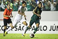 ATENÇÃO EDITOR: FOTO EMBARGADA PARA VEÍCULOS INTERNACIONAIS BARUERI,SP,22 JANEIRO 2013 - COPA SÃO PAULO JUNIORES - PALMEIRAS x SANTOS - Emerson jogador do Santos durante partida Palmeiras x Santos  válido pela semi finals da Copa São Paulo Juniores no Estádio Arena Barueri na noite desta terça - feira.(FOTO: ALE VIANNA -BRAZIL PHOTO PRESS).