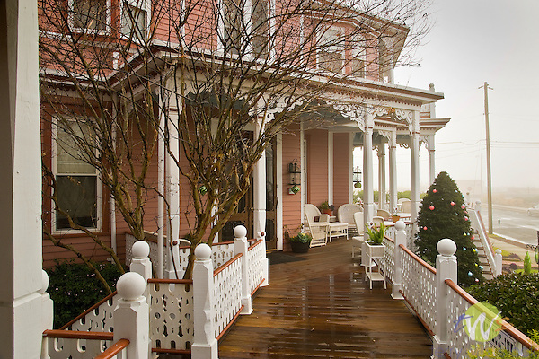 Angel of the Sea, Victorian bed and breakfast, Cape May, NJ. Porch.