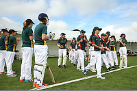 Heaton Intermediate vs Raroa Intermediate during the National Primary School Cricket Cup at the Bert Sutcliffe Oval, Lincoln University, Christchurch, New Zealand. Saturday 25 November 2017. Photo: Martin Hunter/www.bwmedia.co.nz
