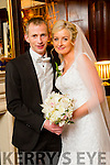 Aine Keane, Asdee, daughter of Ray and Noranne Keane, and Daniel Riordan, Ballydonoghue son of Joe and Breeda Riordan, were married at St. Mary's Church Asdee by Fr. Pat Moore on Saturday 21st November 2015 with a reception at the  Ballygarry House Hotel
