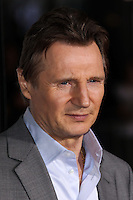 "WESTWOOD, CA, USA - FEBRUARY 24: Liam Neeson at the World Premiere Of Universal Pictures And Studiocanal's ""Non-Stop"" held at Regency Village Theatre on February 24, 2014 in Westwood, Los Angeles, California, United States. (Photo by Xavier Collin/Celebrity Monitor)"