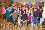 Fiona Murphy, Aghadoe and Gene Cronin, Coolgarrive, Killarney, pictured with family and friends as they celebrated their engagement in Darby O'Gills on Saturday night.