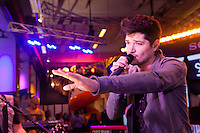 NEW YORK, NY - OCTOBER 5:  Danny O'Donoghue of The Script performing live at the MLB Fan Cave Concert Series  in New York City. October 5, 2012. © Diego Corredor/MediaPunch Inc. © /NortePhoto /©NortePhoto