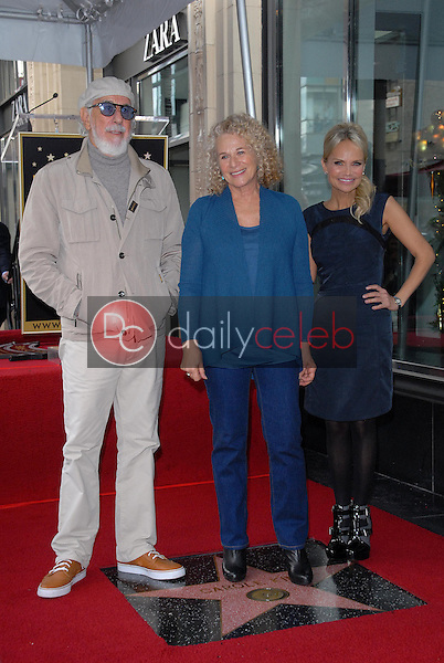 Lou Adler, Carole King, Kristin Chenoweth<br />