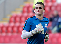 Preston North End's Jimmy Corcoran during the pre-match warm-up <br /> <br /> Photographer David Shipman/CameraSport<br /> <br /> The EFL Sky Bet Championship - Rotherham United v Preston North End - Tuesday 1st January 2019 - New York Stadium - Rotherham<br /> <br /> World Copyright © 2019 CameraSport. All rights reserved. 43 Linden Ave. Countesthorpe. Leicester. England. LE8 5PG - Tel: +44 (0) 116 277 4147 - admin@camerasport.com - www.camerasport.com