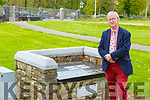 Cllr Donal O'Grady who goes and says prayers at the childrens grave on the grounds of St Mary's Cathedral every day