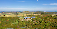 BNPS.co.uk (01202 558833)<br /> Pic: SpenceWillard/BNPS<br /> <br /> Prime location...<br /> <br /> Listen Up...WW2 radar station that helped The Few defeat Goerings Luftwaffe for sale.<br /> <br /> A historic Battle of Britain radar station has emerged for sale for almost £1million after it was converted into an ultra-modern holiday home.<br /> <br /> The Old Radar Station is located on St Boniface Down, near Ventnor, on the highest point of the Isle of Wight.<br /> <br /> Built in 1938 to defend British shores as the threat of war loomed, it offers breathtaking 360 degree views across the island and the English Channel.