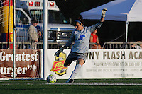 Rochester, NY - Friday June 24, 2016: Boston Breakers goalkeeper Jami Kranich (2) during a regular season National Women's Soccer League (NWSL) match between the Western New York Flash and the Boston Breakers at Rochester Rhinos Stadium.