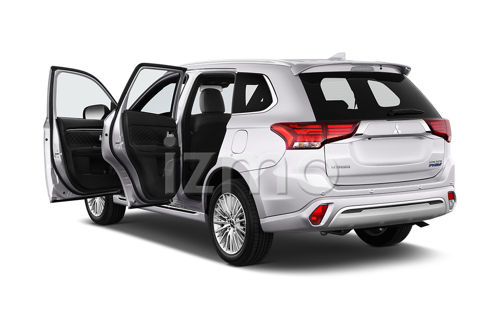 Car images close up view of a 2018 Mitsubishi Outlander PHEV Instyle 5 Door SUV doors