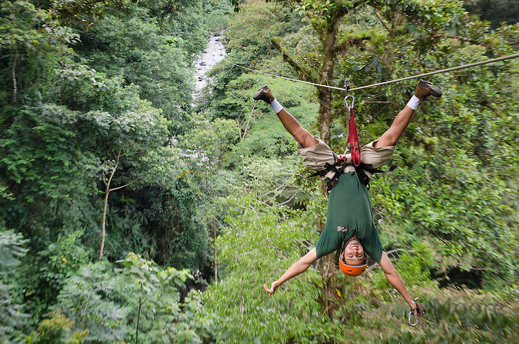 Zip line adventure Costa Rica