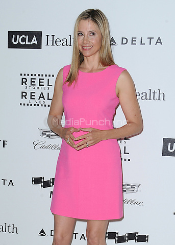 LOS ANGELES, CA - APRIL 25:  Mira Sorvino at the 4th Annual Reel Stories, Real Lives Benefit at Milk Studios on April 25, 2015 in Los Angeles, California. Credit: mpiPGSK/MediaPunch
