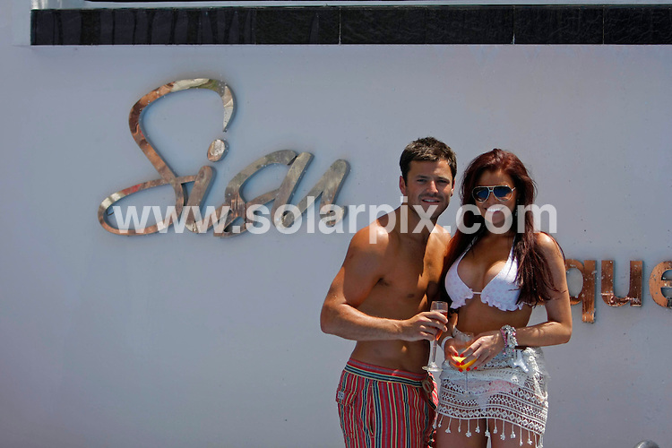 "**ALL ROUND EXCLUSIVE PICTURES FROM SOLARPIX.COM**                                             **WORLDWIDE SYNDICATION RIGHTS** .***MINIMUM PUBLICATION FEE £100.00 PER PICTURE**IF NO MENTION IN THE COPY OF THE SISU HOTEL NAME £200.00MIN PUB FEE WILL APLY***.TOWIE -Mark Wright hosts ""Dueces"" pool party at THE SISU BOUTIQUE HOTELin Marbella Spain attended by most of The only way is Essex Cast..                                                                                                                                                          This pic: Towies Mark & Jessica Wright                                                                                             JOB REF: 13444       AB1/SF       DATE: 27.05.2011                                                           **MUST CREDIT SOLARPIX.COM OR DOUBLE FEE WILL BE CHARGED**                                                                      **MUST AGREE FEE BEFORE ONLINE USAGE**                               **CALL US ON: +34 952 811 768 or LOW RATE FROM UK 0844 617 7637**"