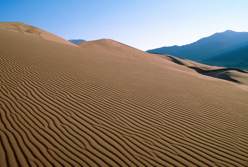 Great Sand Dunes National Monument, near Alamosa, Colorado