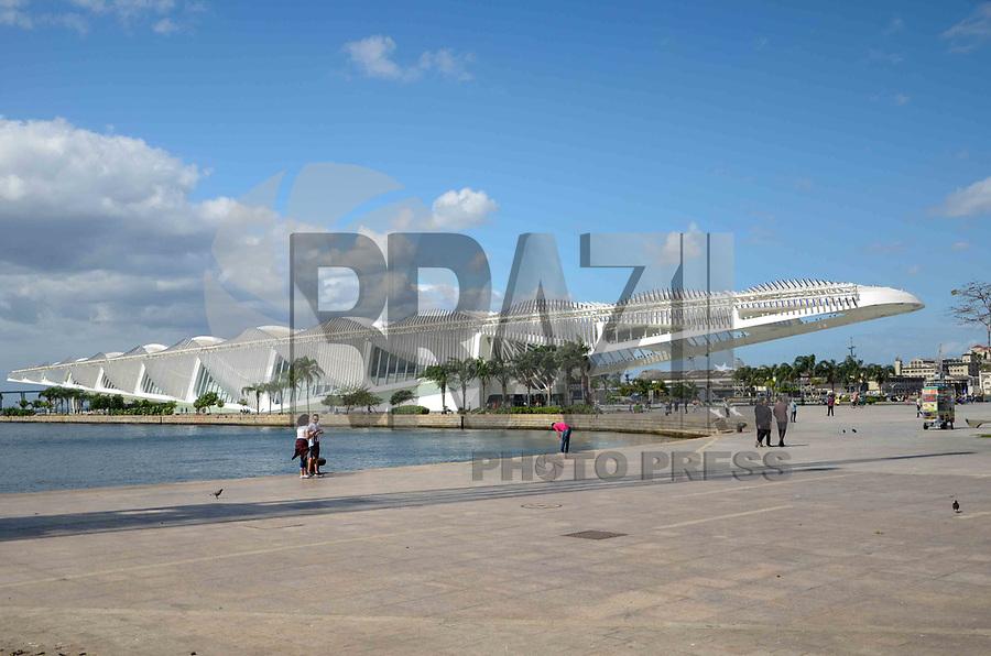 RIO DE JANEIRO, RJ, 23.09.2019 - MUSEU DO AMANHÃ-RJ - O Museu do Amanhã é um projeto do arquiteto espanhol Santiago Calatrava, foi erguido ao lado da Praça Mauá, zona portuária do Rio de Janeiro (Foto: Vanessa Ataliba/Brazil Photo Press/Folhapress)