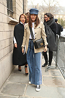 Street Fashion outside Dior show<br /> AW 18, Fall 2018<br /> Paris Fashion Week,  Paris, France in March 2018.<br /> CAP/GOL<br /> &copy;GOL/Capital Pictures