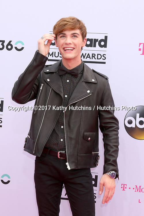 LAS VEGAS - MAY 21:  Jordan Doww at the 2017 Billboard Music Awards - Arrivals at the T-Mobile Arena on May 21, 2017 in Las Vegas, NV