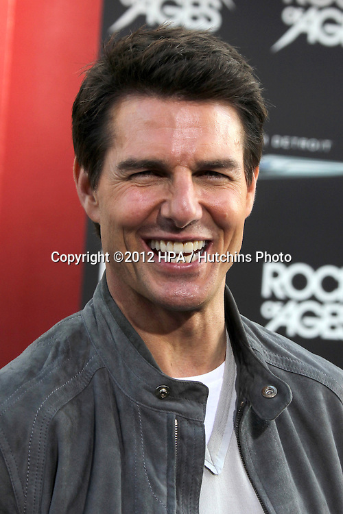 "LOS ANGELES - JUN 8:  Tom Cruise arriving at ""Rock of Ages"" World Premiere at Graumans Chinese Theater on June 8, 2012 in Los Angeles, CA"