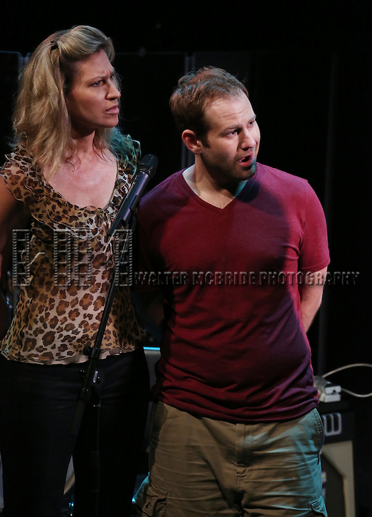 'Julian Po' featuring Luba Mason, Chad Kimball Performing at The New York Musical Theatre Festival - Special Preview at The Studio Theatre on July 2, 2013 in New York City.