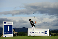 Harry Goddard of England during day 1 of the Boys' Home Internationals played at Royal Dornoch, Dornoch, Sutherland, Scotland. 07/08/2018<br /> Picture: Golffile | Phil Inglis<br /> <br /> All photo usage must carry mandatory copyright credit (&copy; Golffile | Phil Inglis)