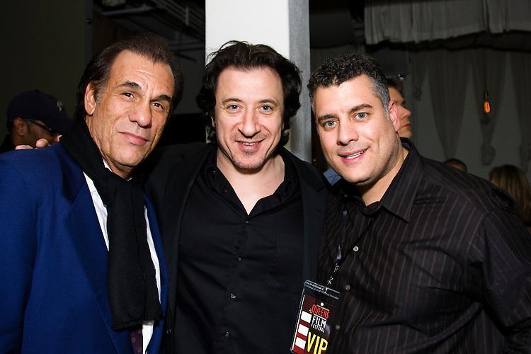 Robert Davi, Federico Castelluccio, Michael Attardi