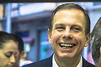 SÃO PAULO, SP, 20.02.2017 – GASOLINA-SP- Governador Geraldo Alckmin acompanhado  prefeito de São Paulo, João Dória e do vice Bruno Covas assinam convênio entre Governo do Estado e Prefeitura de São Paulo para fiscalização em postos de combustíveis na Secretaria da Justiça e da Defesa da Cidadania  no centro de São Paulo nesta segunda-feira,20 (Foto: Danilo Fernandes/Brazil Photo Press)