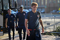 WASHINGTON D.C. - OCTOBER 11: Josh Sargent of the United States walks off the team bus prior to their Nations League game versus Cuba at Audi Field, on October 11, 2019 in Washington D.C.