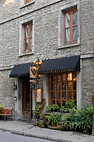 Barroco restaurant on Rue Saint Paul Street in Old Montreal, Quebec, Canada