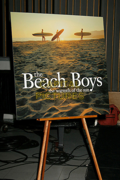 "BEACH BOYS POSTER.Brian Wilson Performs Songs From ""Pet Sounds"" to Support ""Definitive 200"" Campaign held at Capitol Records Building,  Hollywood, California, USA..March 7th, 2007.CAP/ADM/RE.©Russ Elliot/AdMedia/Capital Pictures"