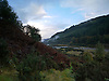 The Ystwyth Valley in early Autumn. This part of the river is about twelve miles inland from<br />