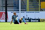 Waldhofs Marco Schuster (Nr.6)  beim Spiel in der 3. Liga, SV Waldhof Mannheim - FSV Zwickau.<br /> <br /> Foto © PIX-Sportfotos *** Foto ist honorarpflichtig! *** Auf Anfrage in hoeherer Qualitaet/Aufloesung. Belegexemplar erbeten. Veroeffentlichung ausschliesslich fuer journalistisch-publizistische Zwecke. For editorial use only. DFL regulations prohibit any use of photographs as image sequences and/or quasi-video.