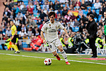 Real Madrid's Alvaro Odriozola during Copa del Rey match between Real Madrid and UD Melilla at Santiago Bernabeu Stadium in Madrid, Spain. December 06, 2018. (ALTERPHOTOS/A. Perez Meca)