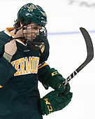 Travis Blanliel (UVM - 10) - The visiting University of Vermont Catamounts tied the Boston College Eagles 2-2 on Saturday, February 18, 2017, Boston College's senior night at Kelley Rink in Conte Forum in Chestnut Hill, Massachusetts.Vermont and BC tied 2-2 on Saturday, February 18, 2017, Boston College's senior night at Kelley Rink in Conte Forum in Chestnut Hill, Massachusetts.