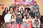 KEY OF THE DOOR: Nicole Byrne (seated centre), Killeen Heights, Tralee celebrating her 21st birthday on Saturday night in the Austin Stacks Club House with lots of family and friends.   Copyright Kerry's Eye 2008